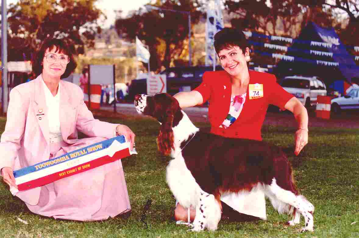 Best in Show Toowoomba Royal Show 1992